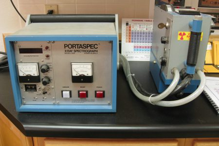 Porta-Spec Model 2501 X-Ray Fluorescence Spectrograph